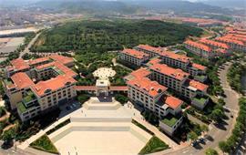 中国海洋大学俯瞰