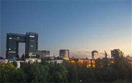 北京科技大学夜景