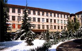 冬季的中國政法大學