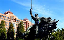 内蒙古大学雕塑