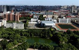 俯瞰内蒙古大学