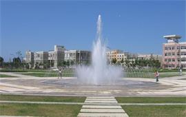 辽宁大学广场喷泉