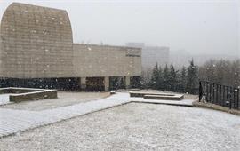 冬季的大连海事大学