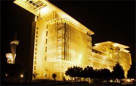 夜晚的南京师范大学