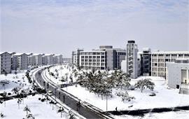 磬苑校区雪景