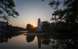 广西大学碧云湖