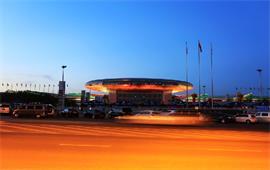 新疆大学夜景