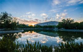 石河子大學美景