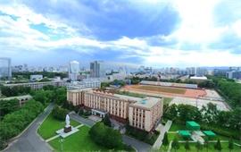 中国地质大学俯视图