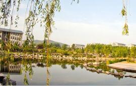 山东财经大学校内风景
