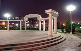 河北经贸大学小广场