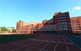 北京第二外国语学院跑道