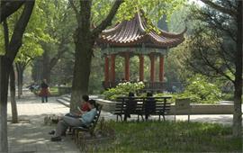 北京第二外国语学院校内一角