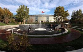 北京国家会计学院喷泉