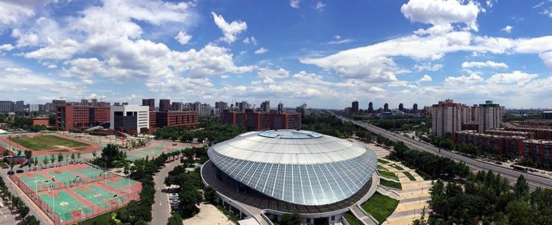 北京工业大学校园一角图集