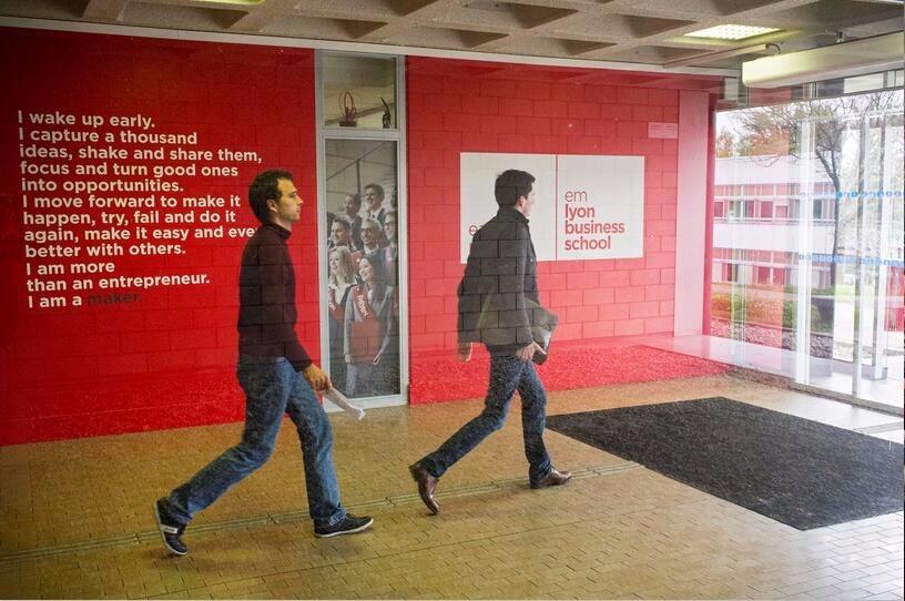 北京邮电大学中外合作办学-里昂大学校园风景