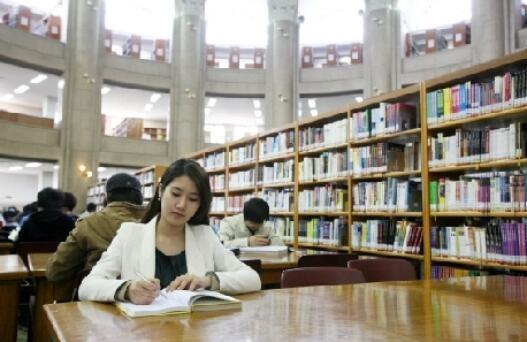 庆熙大学图书馆图集