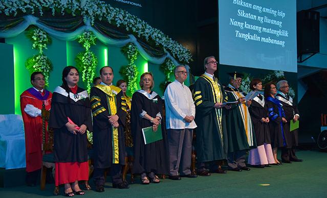 菲律宾凯迪雷拉大学毕业典礼图集