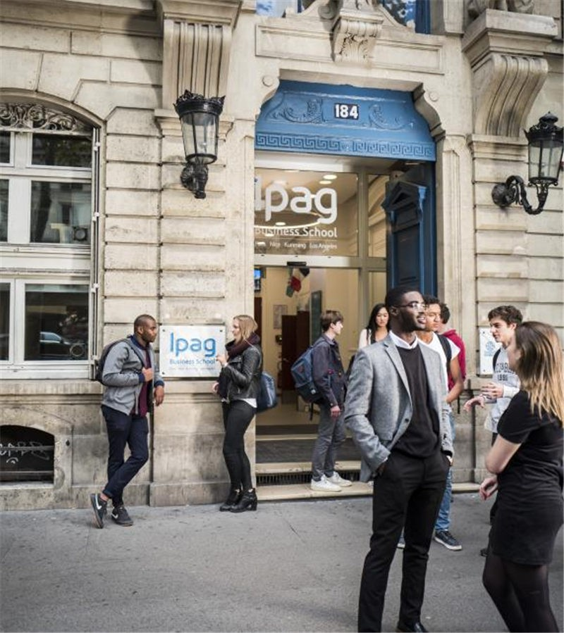 法国巴黎IPAG高等商学院校园建筑图集