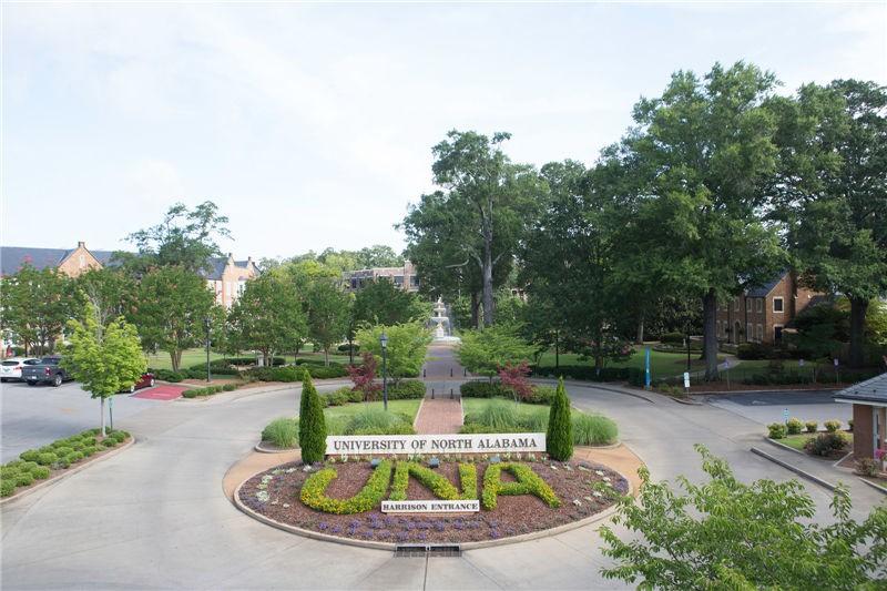 美國北阿拉巴馬大學校園風景圖集