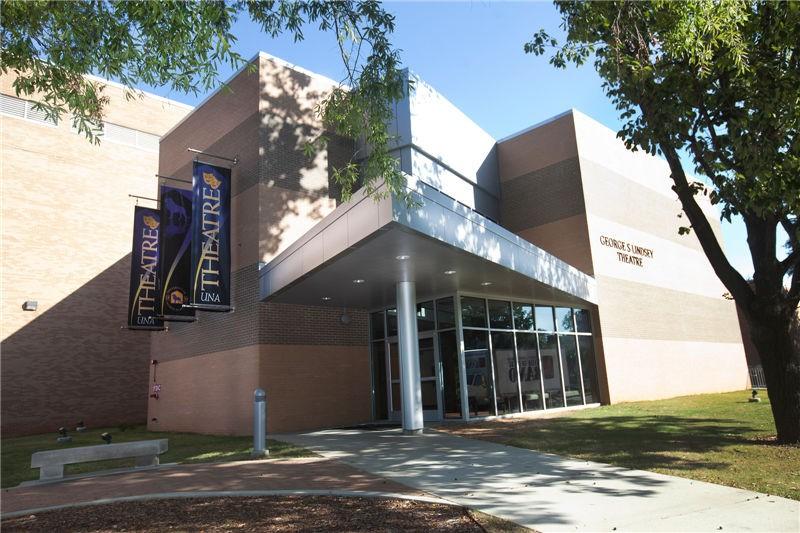 美國北阿拉巴馬大學校園建筑圖集