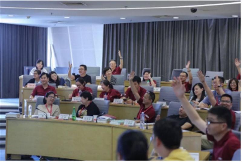 上海国家會計學院上课圖集