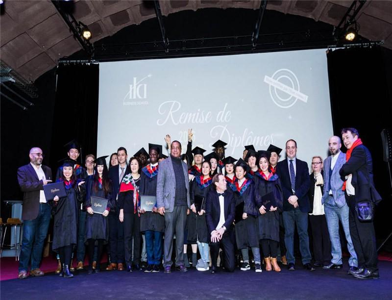 法国ILCI国际商学院毕业典礼图集