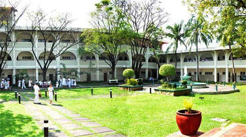 菲律宾永恒大学校园风光图集