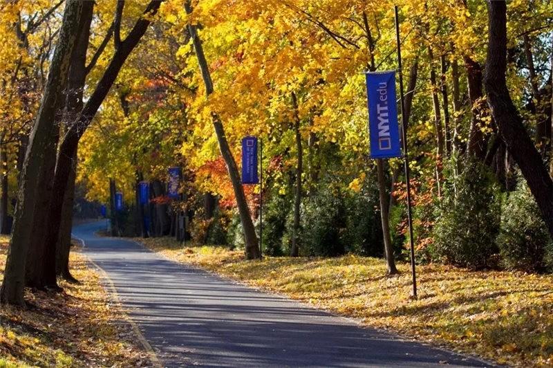 美国纽约理工大学校园风景图集