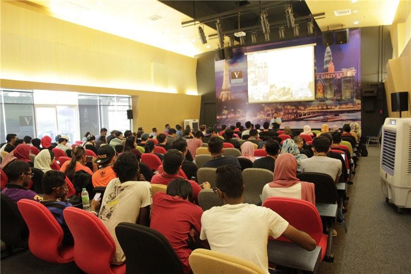 马来西亚城市大学上课环境图集