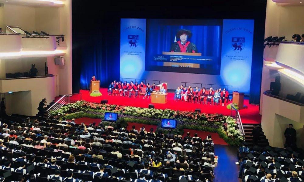 新国大商学院2018年毕业典礼图集