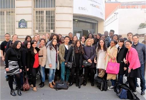 法国ESG高等商学院活动合影图集