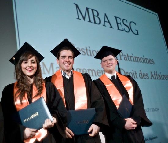 法国ESG高等商学院学生毕业照图集