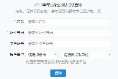 2018年华东师范大学在职研究生(非全日制)成绩查询时间及入口