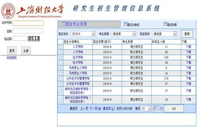 2018上海财经大学在职研究生(非全日制)成绩查询时间及入口