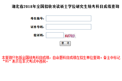 2018中南财经政法大学在职研究生(非全日制)成绩查询时间及入口