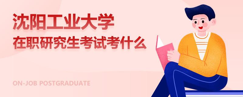 沈阳工业大学在职研究生考试考什么