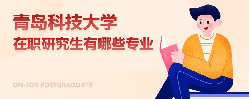 青岛科技大学在职研究生有哪些专业