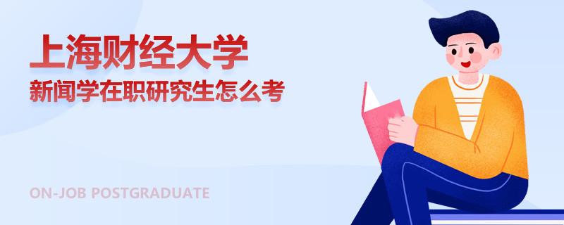 上海财经大学新闻学在职研究生怎么考