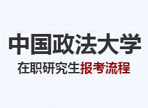 2021年中国政法大学在职研究生报考流程