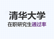 2021年清华大学在职研究生通过率