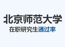 2021年北京师范大学在职研究生通过率