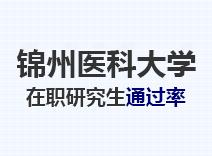 2021年锦州医科大学在职研究生通过率