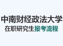 2021年中南财经政法大学在职研究生报考流程