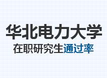 2021年华北电力大学在职研究生通过率