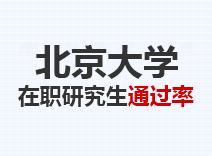 2021年北京大学在职研究生通过率