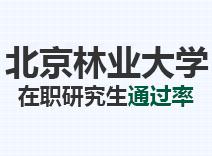 2021年北京林业大学在职研究生通过率