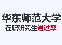 2021年华东师范大学在职研究生通过率