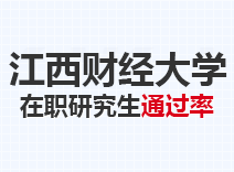 2021年江西财经大学在职研究生通过率
