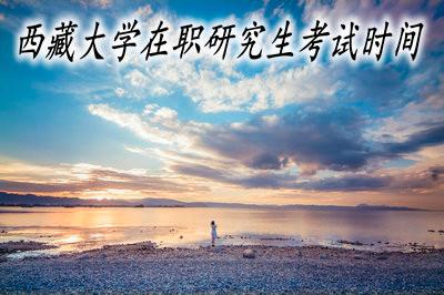 西藏大学在职研究生的考试时间固定吗?